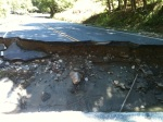 Holes in Route 100A south of the Farm Brook Motel, by Robin Bebo-Long