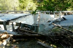 9:23AM 9/2/11, Route 100A Plymouth, first bridge out on the north side, by Jen and Jay Flaster
