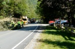 10:04AM 9/2/11, CVPS and Ontario power crews arrive to restore power on Route 100A in north Plymouth, by Jen and Jay Flaster