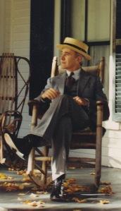 Jim Cooke as Calvin Coolidge