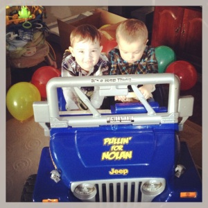 Nolan's 2nd Birthday March 2013