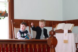 Owen Perrino & Christopher Scales at Tyson Church