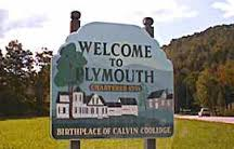 Plymouth Town Sign