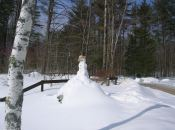 Karen Evans' photo of Bruno Broza's Snowman