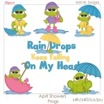 April Showers (frogs)