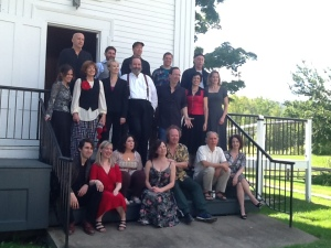 Shakespeare Alive! performers at Calvin Coolide Homestead (9/5/15)