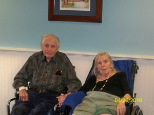 Dorothy and Roger Pingree on the 64th anniversary of their wedding day!