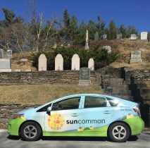 Suncommon Car at Coolidge Gravesite
