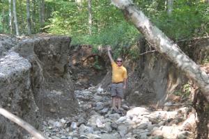 Storm erosion by Jim Nielsen
