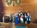 2016 cast of Shakespeare Alive performed at Union Church, President Calving Coolidge State Historic Site
