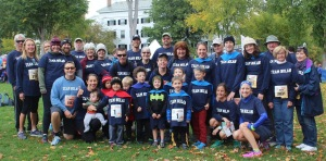 Team Nolan helped raise funds for the Children's Hospital at Dartmouth, 2016
